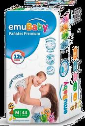 Pañales Premium Emubaby M 44 Un