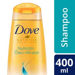 Dove Shampoo Nutricion Oleo Micelar