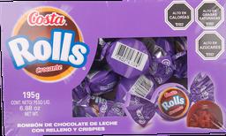 Dp Choco Rolls Crocante Costa 15 Un