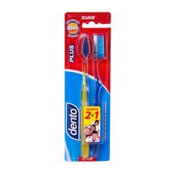 Dento Cepillo Dental Plus Suave 2 X 1