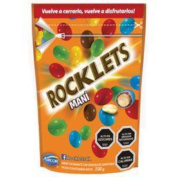 Maní Confitado Rocklets Con Chocolate 150 g
