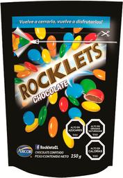 Rocklets Choc Doypack Dos En Uno 150 Gr