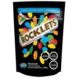 Chocolate Confitado Rocklets 150 g