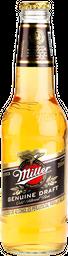 Miller Genuine Draft Caja 12 botellas 355 cc.