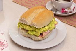 Sándwich Jamón Palta
