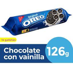Galleta Oreo De Chocolate Rellena Con Crema Vainilla 14Un 126g