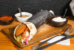🌯 Shawarma Mixto Extra Grande de Carne y Pollo