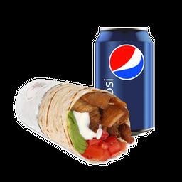 Burrito Italia + Bebida 350cc