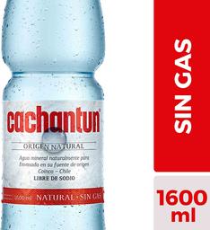 Agua mineral Cachantun sin gas