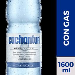 Agua Mineral Cachantun 1,6 L Con Gas
