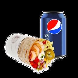 Burrito Sabroso + Bebida 350cc