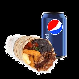 Burrito Delicioso + Bebida 350cc