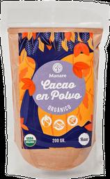 Cacao en Polvo Manare Doypack 500 gr