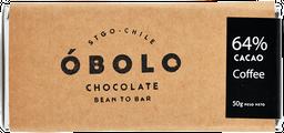 Obolo 64 % Cacao -coffee 50 gr
