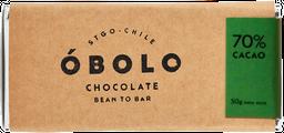 Obolo 70 % Cacao Sal Cahuil 50 gr
