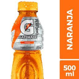 Bebida Gatorade Naranja 500cc