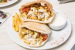 2x1 Pitas Clásicos de Pollo + Salsa Shawarma