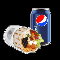 Burrito Heavy (Pollo) + Bebida 350cc