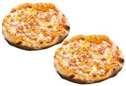 2 Pizzas Siena
