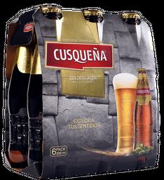 Cerveza Cusqueña 330 mL x 6