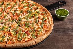 Pizza Pesto Margarita Mediana
