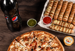 🍕🥤 ¡Combo Pizza Familiar!