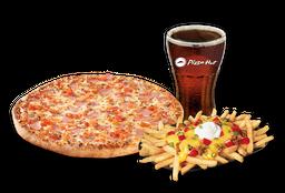 Pizza Italiana Individual + Papas Supremas + Bebida 220 cc