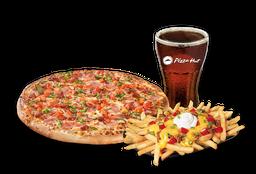 Pizza Española Individual + Papas Supremas + Bebida 220 cc