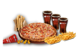 Pizza Familiar (Pack Familiar)
