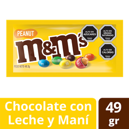 Chocolate M&M Maní Amarillo 48g