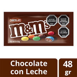 Chocolate M&M Negro 48g