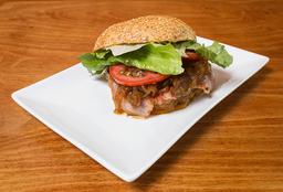 Wally's Bacon Burger Doble