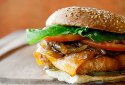 Wally's Chicken Burger