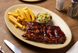 Baby Back Ribs (Medio Costillar 24 oz)