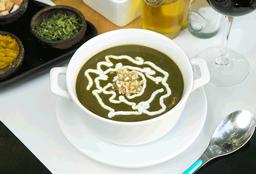 Sopa de Espinaca (vegano/vegetariano)