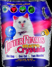 Arena Sanitaria Litter Pearls Micro Cristals 3.18 Kilos