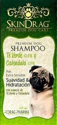 SkinDrag Premium Dog Shampoo Te verde & calendula 250ml