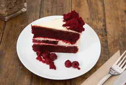 Porción de Torta Red Velvet
