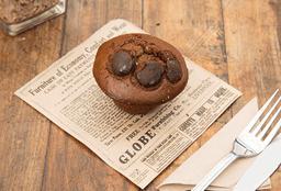 Muffin de Doble Chocolate
