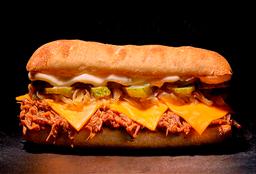 Sándwich Mechada Cheddar