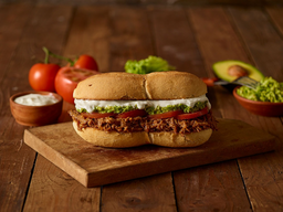 Sándwich Gran Mechada Italiano