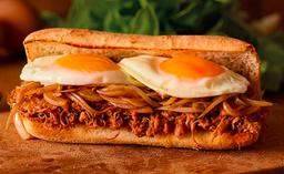 Sándwich Gran Mechada Doble Huevo