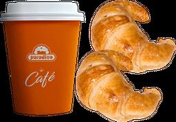Café + 2 Medialuna Simple