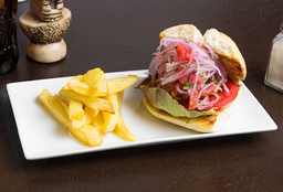 Sándwich de Pollada