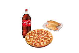 Pizza Grande Bebida Chaparritas