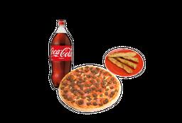 Pizza Grande Bebida Palitos de Ajo