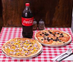 Combo 2 Pizzas Familiares