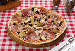 Pizza Capricciosa Familiar