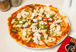 Pizza Pesto Pollo