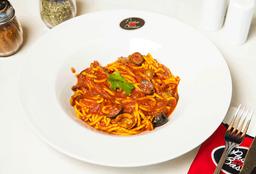 Spaguettis Puttanesca